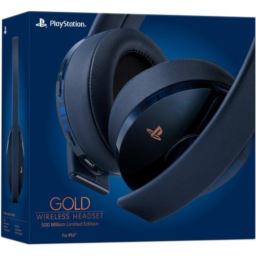 [US-NEW] Tai nghe Sony PlayStation Gold Wireless Headset - 500 Million Limited Edition