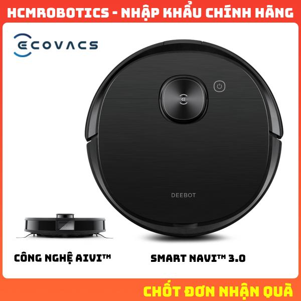 Robot hút bụi Ecovacs Deebot OZMO T8 AIVI 2021  [ BẢO TRÌ 5 NĂM ]