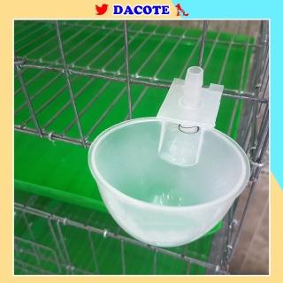 Máng uống nước cho chim bồ câu, gà chất liệu nhựa an toàn hàng loại 1 thumbnail