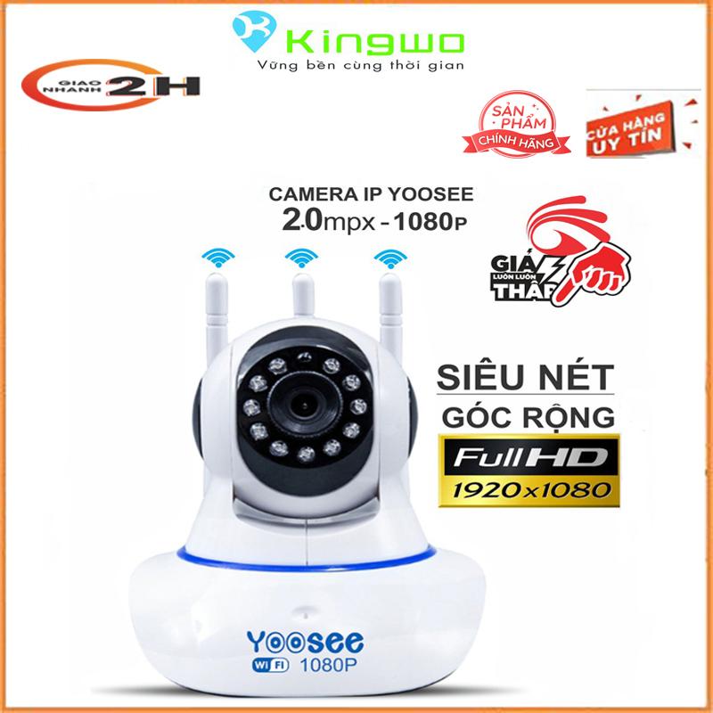 Camera Wifi Yoosee 3 Râu độ phân giải FULL HD 2.0MP 1920x1080p Không Dây, kèm thẻ nhớ tùy chọn-camera yoosee-camera wifi-camera yoosee xoay 360 độ