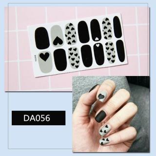 Bộ dán móng tay nail sticker gồm 14 móng mã DA041 - DA060 thumbnail