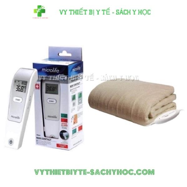 Nơi bán Combo Nhiệt Kế Hồng Ngoại Đo Trán Microlife Fr1Mf1 Tặng Chăn Sưởi Điện