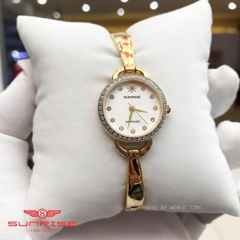 Nơi bán Đồng hồ Nữ Sunrise SL661SXA - Full Box , Thẻ BH hãng - Kính Sapphire chống xước, chống nước