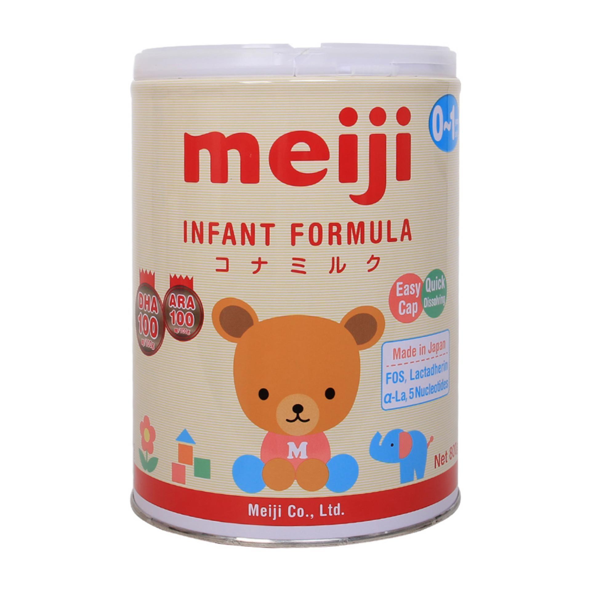 Sữa Meiji cho bé 0-1 tuổi 800g