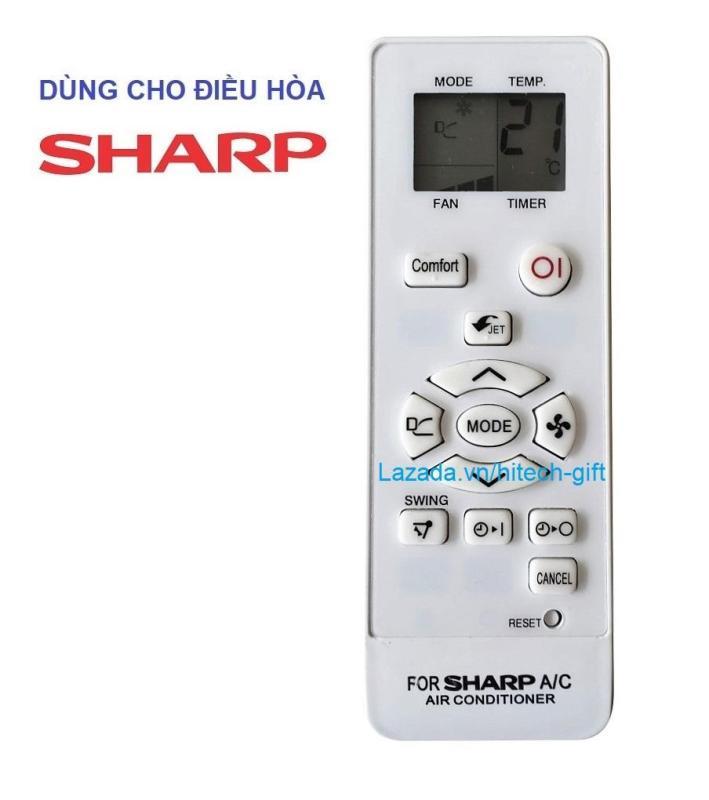Remote Điều Khiển Máy Lạnh, Máy Điều Hòa Sharp AH-X9VEW, AH-X12VEW, AH-X18VEW