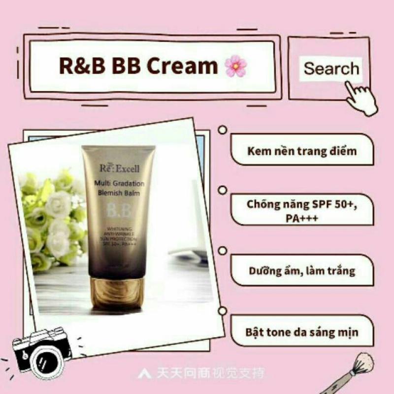 [Chính hãng]-Kem Nền B.B Cream Multi Gradation Blemish Balm, nhập khẩu Hàn Quốc, 50g cao cấp