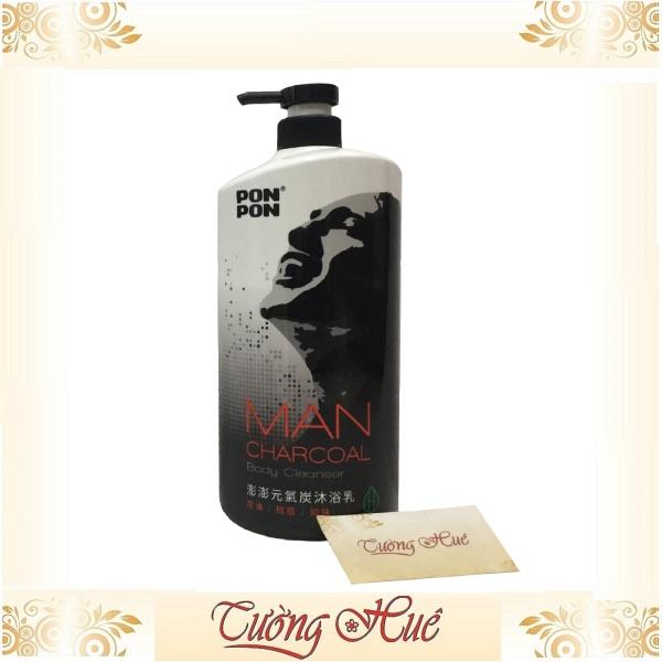 Sữa Tắm Nam Pon Pon Man Charcoal Body Cleanser - 1200g