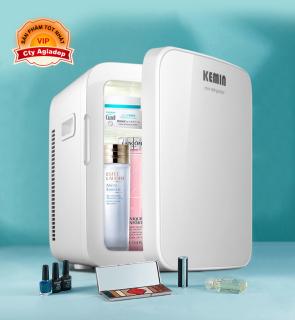 Tủ lạnh mini Kemin 16L xe hơi oto trong nhà đều được trữ sữa mỹ phẩm v.v thumbnail