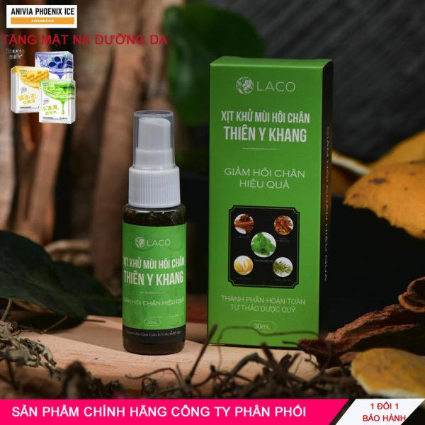Xịt Khử Mùi Hôi Chân Anivia Phoenix Ice Thiên y Khang - 100% Thảo Dược Thiên Nhiên nhập khẩu