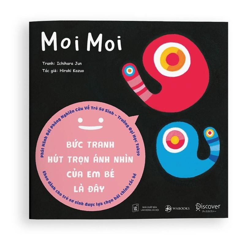 Sách Ehon Moi Moi - Bức Tranh Hút Trọn Ánh Nhìn Của Em Bé Là Đây