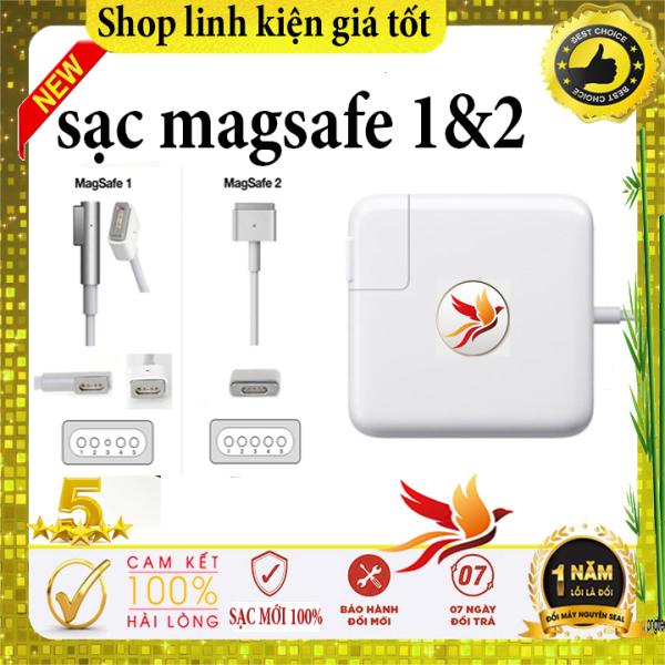 Sạc Macbook 45W 60W 85W MagSafe 1 & magsafe 2 - A1184 A1330 A1398 - sạc macbook pro 2008/2009/2010/2011/2012/2013/2014/2015 - sạc macbook air - 2008/2009/2010/2011/2012/2013/2014/2015/2016/2017