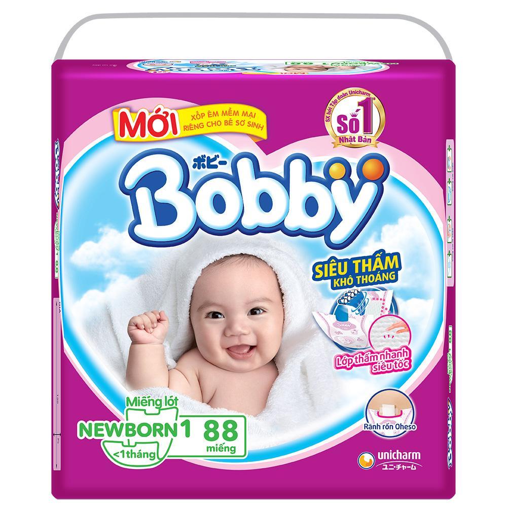 Miếng lót Bobby Fresh Newborn 1 (108 miếng) < 1 thangs
