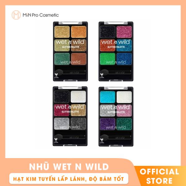 Nhũ Wet N Wild Fantasy Makers Glitter Palette 6 Ô giá rẻ