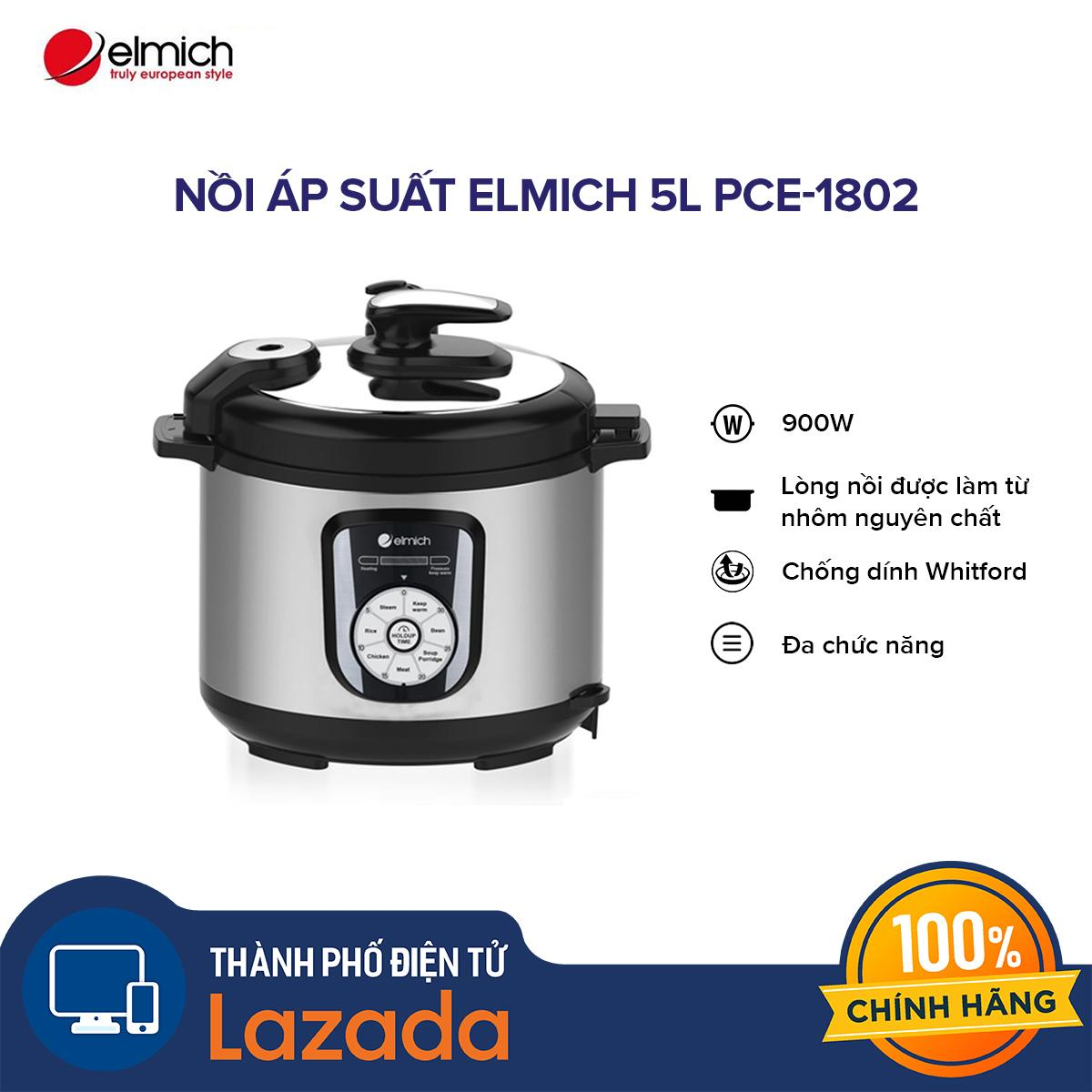 Nồi áp suất Elmich 5L PCE-1802