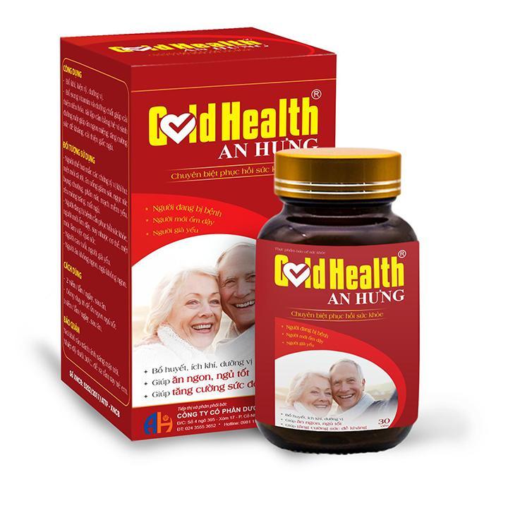 Thực phẩm bổ máu Gold Health cao cấp