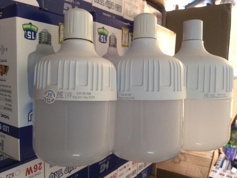 Bộ 10 Bulb trụ kín nước 26W ánh sáng trắng (chip korea)