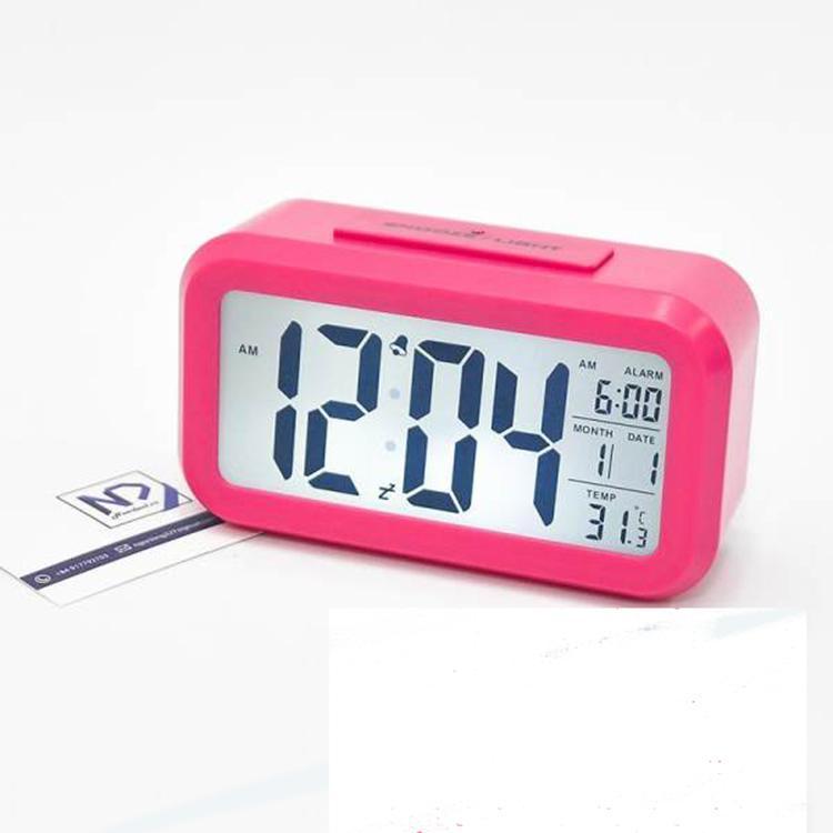 Đồng hồ báo thức, Đồng Hồ Để Bàn LCD Led HD51 kiêm báo thức, nhiệt kế, lịch bán chạy