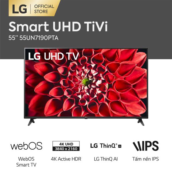 Bảng giá [FREESHIP 500K TOÀN QUỐC] Smart Tivi LG 55inch 4K UHD 55UN7190PTA - Hãng phân phối chính thức