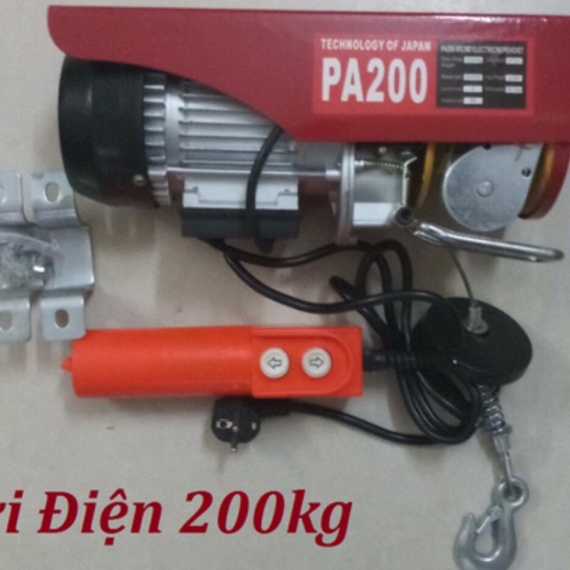Máy tời treo pa 200 máy tời điện pa200