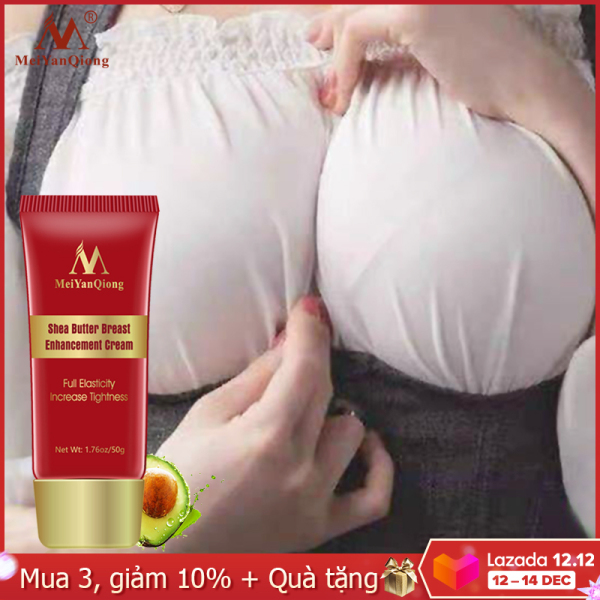MeiYanQiong Kem thảo dược nâng ngực 50g hiệu quả cho nữ, làm tăng độ đàn hồi, giúp ngực săn chắc, giá tốt