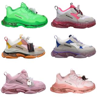 Giày thể thao sneaker nam nữ Ba-Len-cia-ga đế khí đế tách phân tầng chuẩn chữ thumbnail