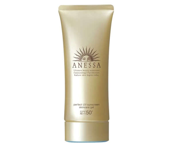 Gel chống nắng dưỡng ẩm chuyên sâu bảo vệ hoàn hảo Anessa Perfect UV Sunscreen Skincare Gel - SPF50+ PA+++++ - 90g nhập khẩu