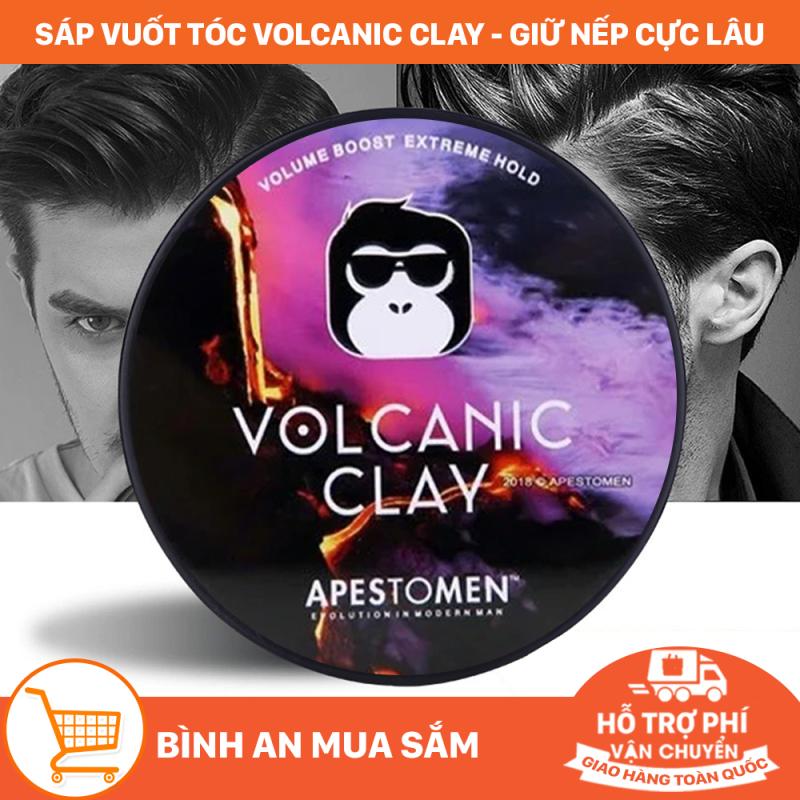 Sáp vuốt tóc nam Volcanic Clay Giúp bạn luôn tự tin về phong thái người đàn ông bản lĩnh. Sáp giữ nếp tóc tốt, vuốt theo ý muốn của bạn. Sản phẩm an toàn, chất lượng tốt giá rẻ