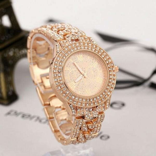 Đồng hồ nữ minhin đính đá sang chảnh, sản phẩm tốt, chất lượng cao, cam kết sản phẩm nhận được như hình bán chạy