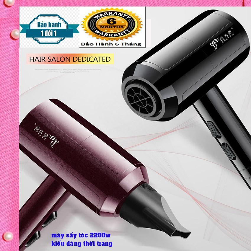 Máy sấy tóc cá nhân nóng lạnh 2 chiều DLY-8030 công suất 2200w, Phong cách thời trang, Thiết kế đẹp trẻ trung phá cách(NHANHNHAT) nhập khẩu
