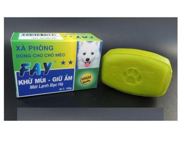 Xà Bông ASA FAY 2 SAO 100g Khử Mùi cho thú cưng