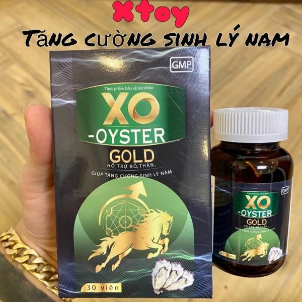 Hàu Biển XO-OYSTER GOLD - Xanh - Tăng Cường Sinh Lý Vitamin Giảm Mỏi Gối , Đau Lưng , Tiểu Đêm , Thận Kém - Hộp 30 Viên cao cấp