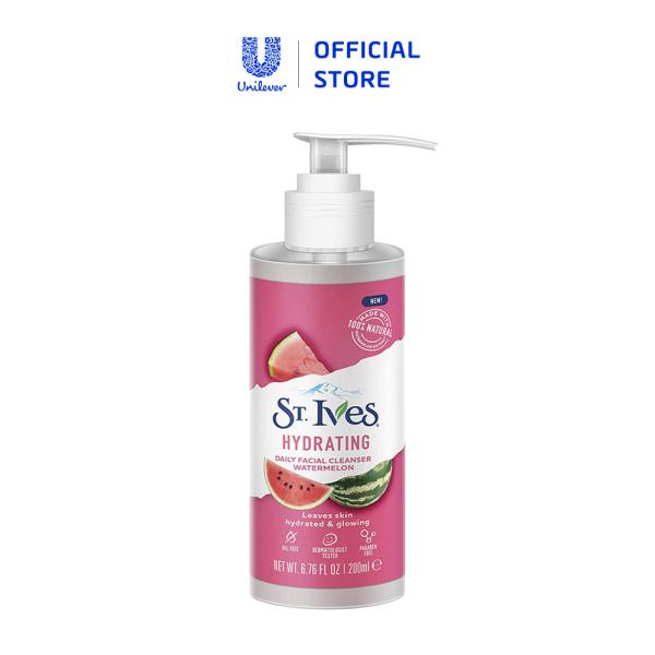Sữa rửa mặt St.Ives dưa hấu dưỡng ẩm 200ml