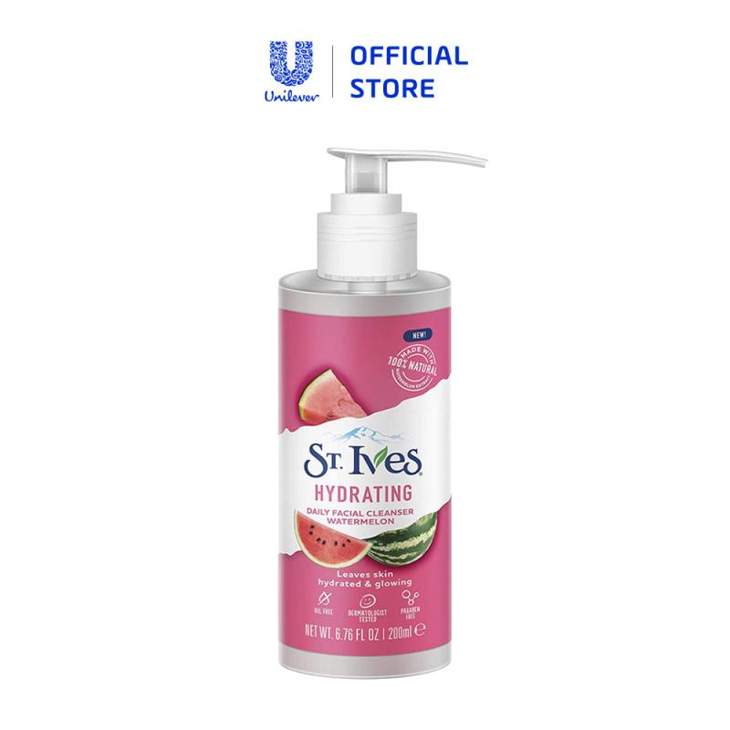 Sữa rửa mặt St.Ives dưa hấu dưỡng ẩm 200ml giá rẻ