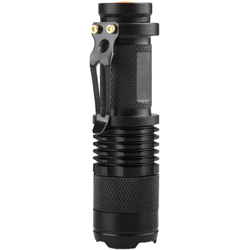 Giá Tiết Kiệm Để Sở Hữu Ngay Mini Led Flashlight Torch Lamp Q5 Led Torch Aa/14500 Adjustable Zoom Focus Penlight Waterproof For Outdoor