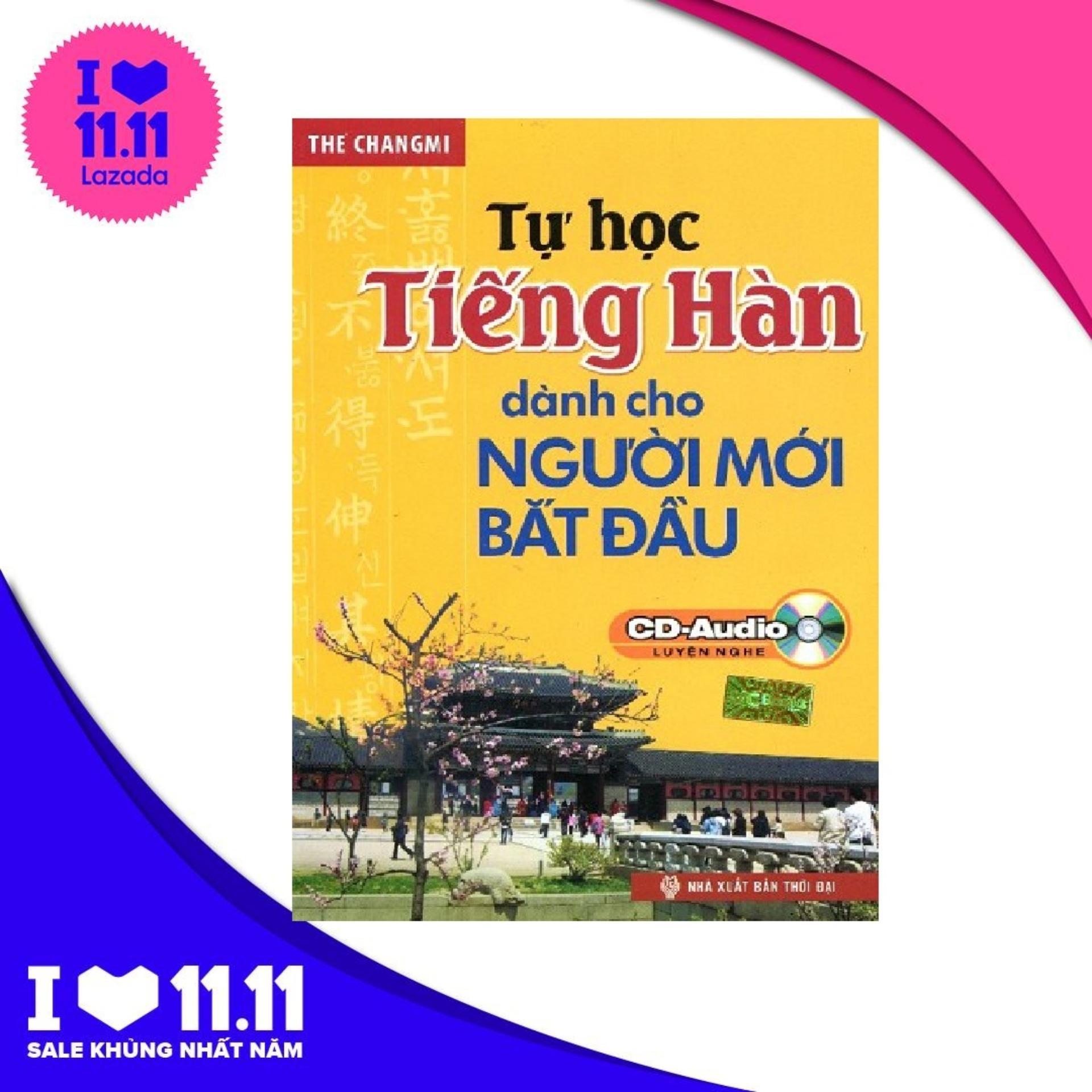 Tự Học Tiếng Hàn Dành Cho Người Mới Bắt Đầu - The Changmi - MCbooks - BỌC NILON BẢO QUẢN SÁCH CHUYÊN DỤNG Với Giá Sốc