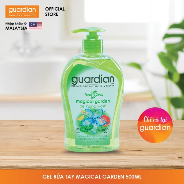Gel rửa tay Guardian Fresh Clean Magical Garden (500ml) giá rẻ