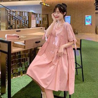 Đầm Voan Form Baby Doll Phối Xếp Li Chia Tầng Siu Dễ Thương TTS0960 thumbnail