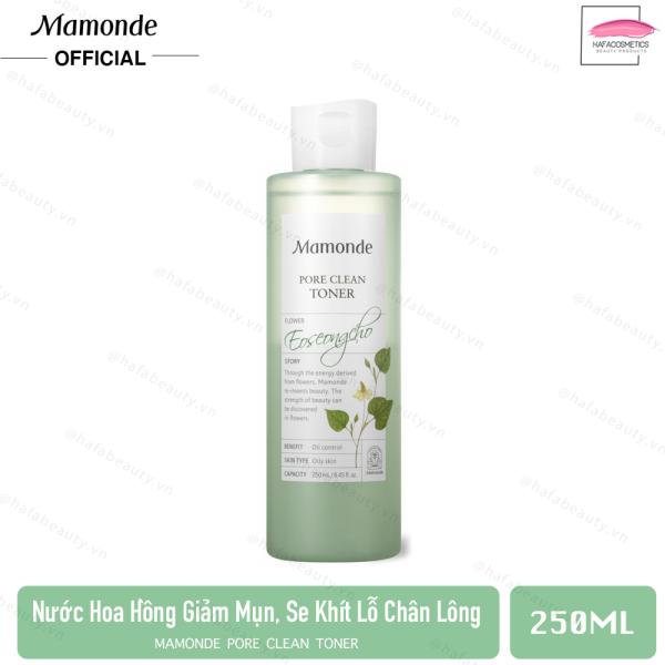 Nước Hoa Hồng Làm Giảm Mụn, Se Khít Lỗ Chân Lông Mamonde Pore Clean Toner 250ml [Da Dầu, Da Hỗn Hợp] tốt nhất