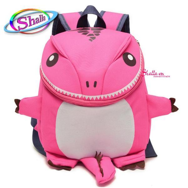 Giá bán Balo thời trang Cho bé hình khủng long con dể thương chống nước M2 Shalla