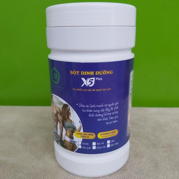 [ FREE SHIP] 500gr  Bột dinh dưỡng X5 dành cho người tập thể thao: Có Lòng Trắng Trứng Đạm Whey Giúp Tăng Cơ, Giảm Mỡ cao cấp
