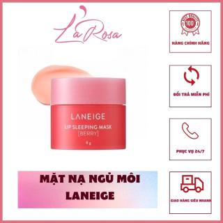 Mặt nạ ngủ môi Laneige 7gram, dưỡng ẩm căng bóng, LaRosa, LR57 thumbnail