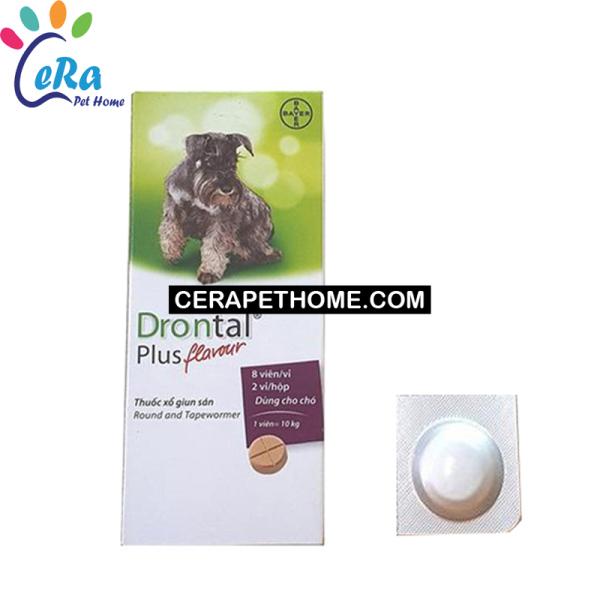 Tẩy Giun Cho Chó - Bayer Drontal Dog (Lẻ 1 Viên) - Hộp 24 Viên