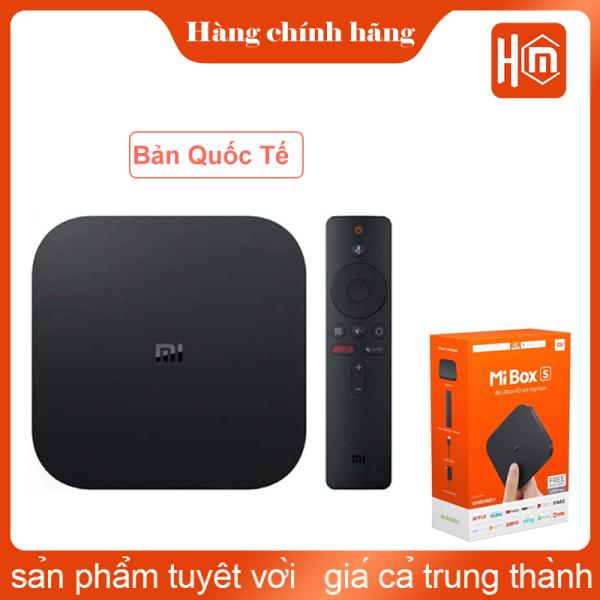 Bảng giá ANDROID TV BOX MIBOX S 4K QUỐC TẾ CHÍNH HÃNG XIAOMI