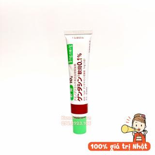 Kem bôi sẹo Gentacin hãng Sato cho các loại sẹo lồi sẹo lõm sẹo thâm Nhật Bản tuýp 10g, phòng sẹo thumbnail