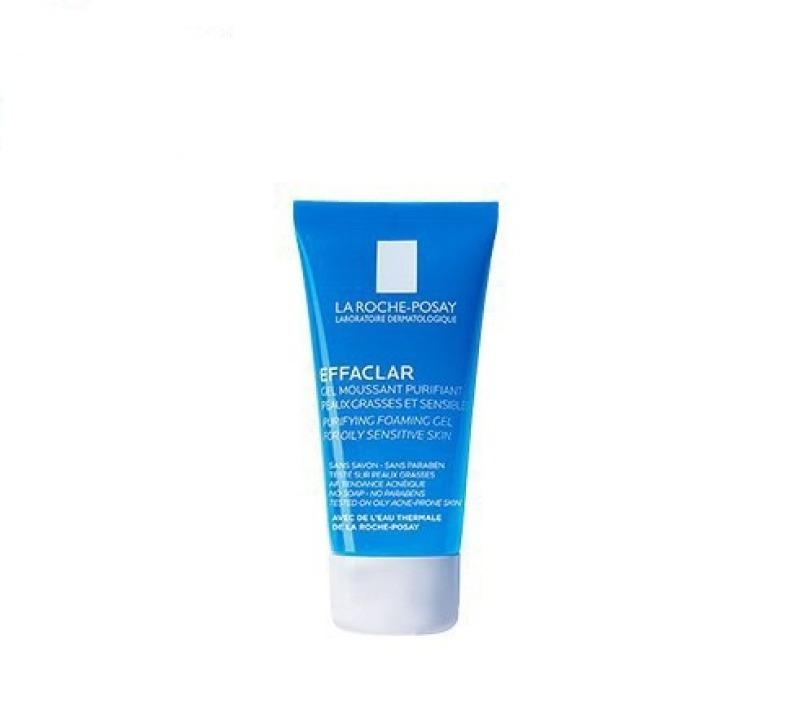 Gel Rửa Mặt Tạo Bọt Giảm Dầu Cho Da Nhạy Cảm La Roche-Posay Effaclar 15ml