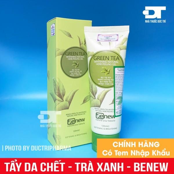 Tẩy da chết trà xanh Benew Green Tea Peeling Gel