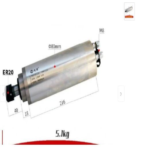 Động cơ phay spindle 2.2 kw ER20