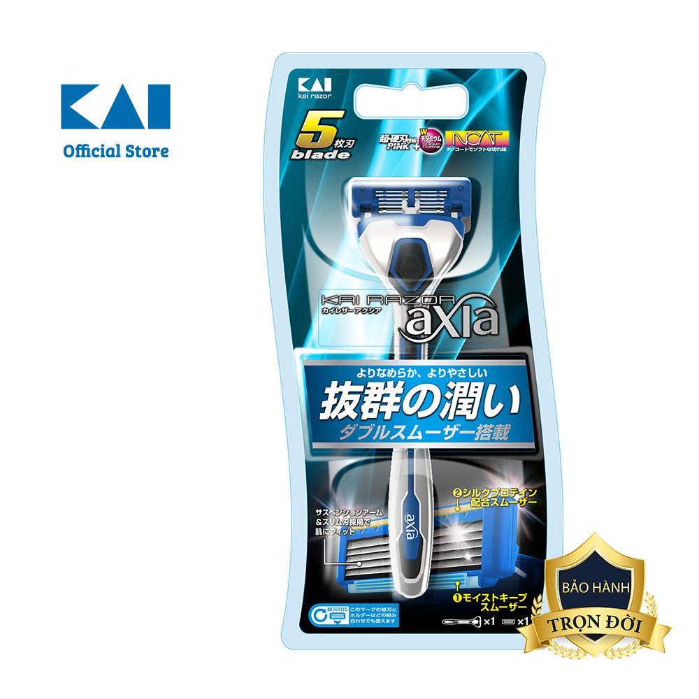 Dao cạo râu cao cấp Nhật Axia 5 Blade tốt nhất