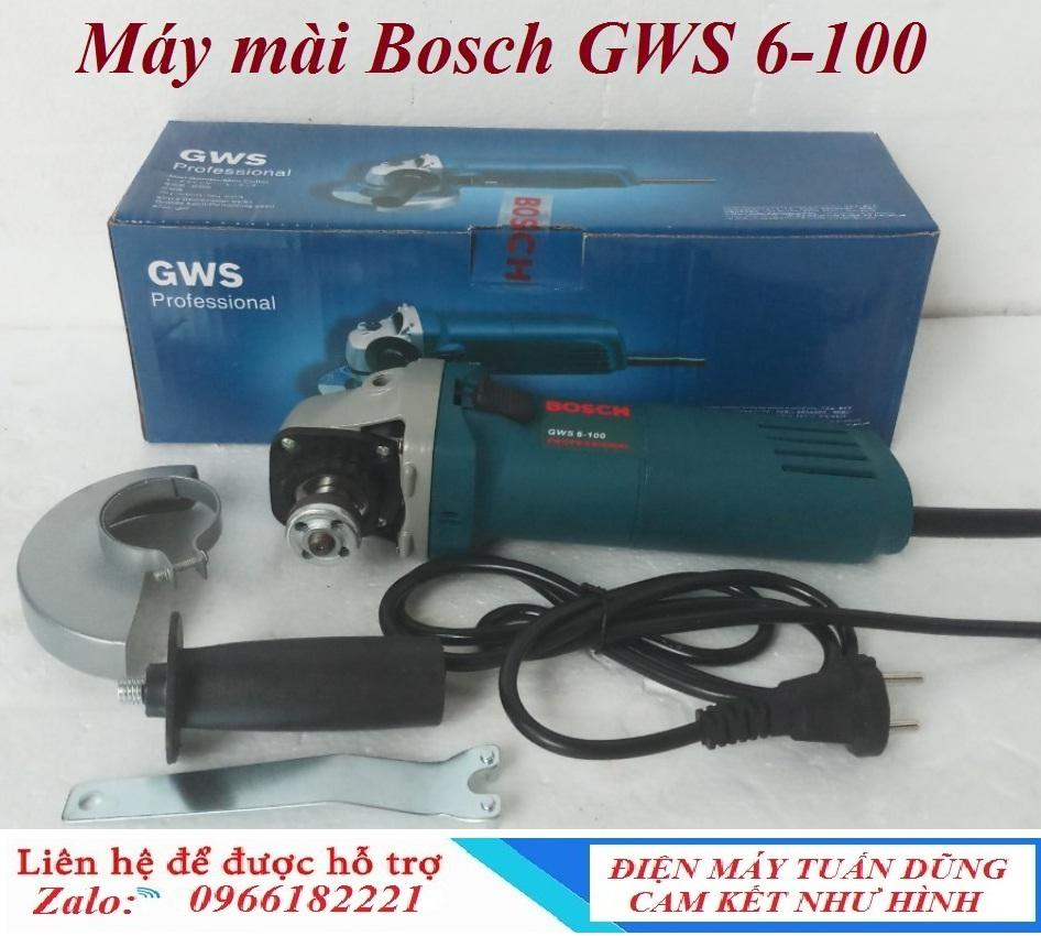 Máy mài cầm tay Bosh GWS 6-100 hàng liên doanh Đức