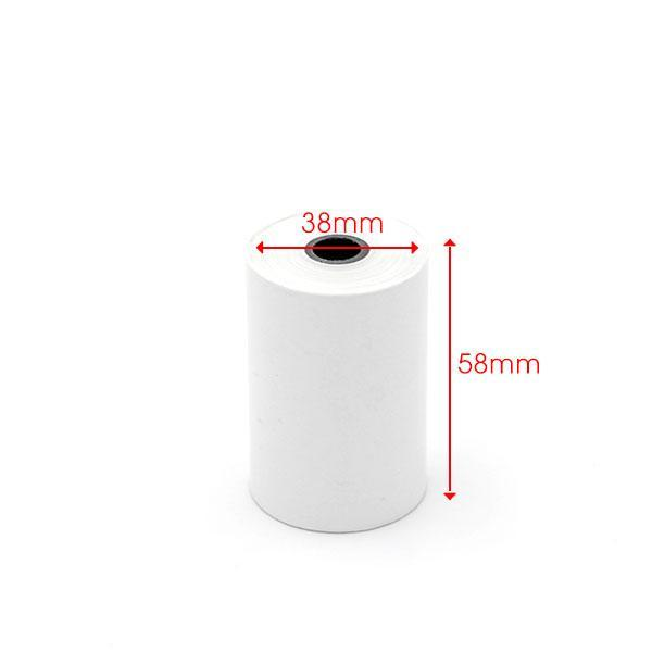 Mua 10 cuộn giấy in nhiệt 57-58mm bọc bạc phi 38